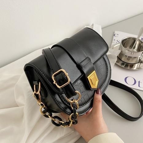 nouveau sac de selle décontracté de style occidental à la mode NHXC325998's discount tags
