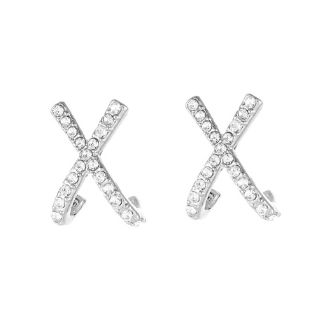 neue Mode Kreuz Ohrringe NHOT328433's discount tags