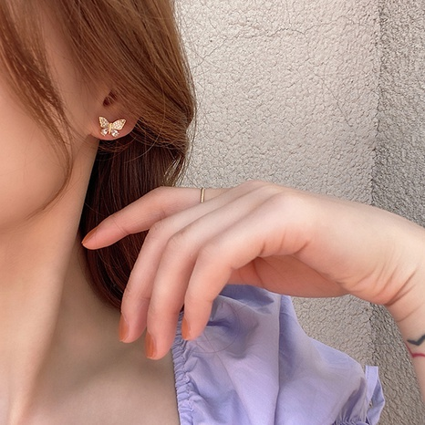 Mode Schmetterling Quaste lange Ohrringe NHOT328430's discount tags