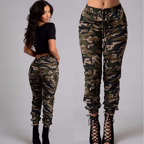 fashion print casual pants NHJC326065's discount tags