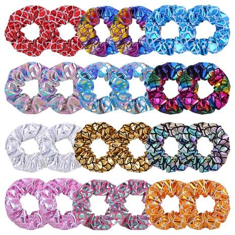 fashion simple printing hair scrunchies set  NHMO326195's discount tags