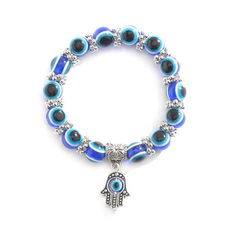 Retro blaues Auge Fatimas Handperlen Armband NHCU326241's discount tags