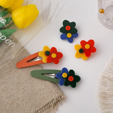 simple candy color hairpin wholesale NHMS326268's discount tags