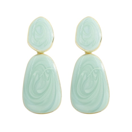 Korean simple acrylic resin earrings NHJQ326312's discount tags