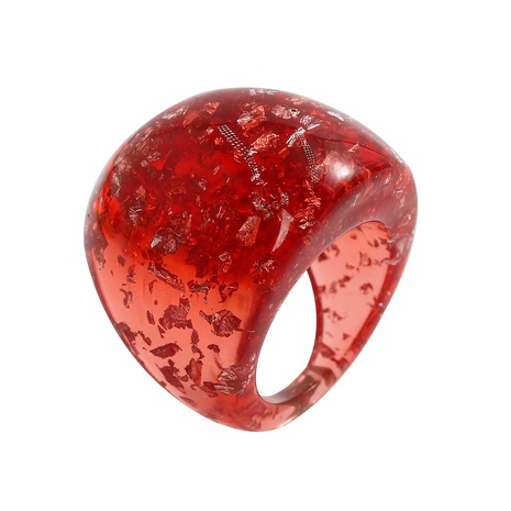 fashion Acrylic resin colorful ring NHJQ326319's discount tags