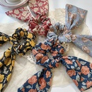 Korean bowknot floral ribbon hair scrunchies NHOF326387