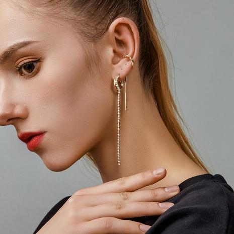 Korean fashion metal ear clip wholesale NHDP326419's discount tags