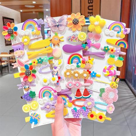 Conjunto de pinzas de pelo de mariposa lindo para niños NHNA326459's discount tags