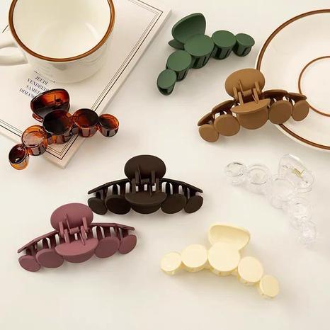 Grande épingle à cheveux ronde coréenne de couleur unie NHWB326509's discount tags