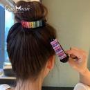 Grande pince  cheveux arcenciel de couleur bonbon de Core NHWB326529