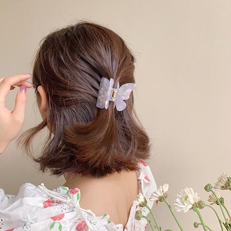 Épingle à cheveux en acrylique papillon rétro coréen NHDM326579's discount tags