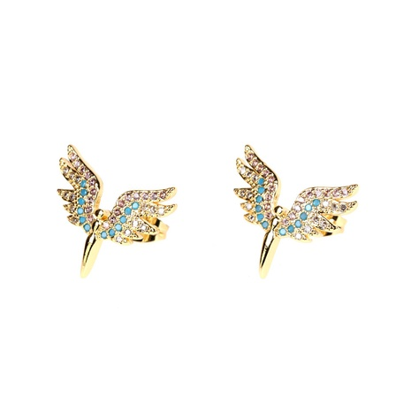 fashion hollow angel wings earrings wholesale NHPY326682's discount tags
