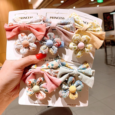 Korean bow hairpin wholesale NHSA326829's discount tags