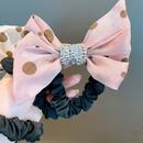Accessoires pour cheveux en diamant coren  pois noeud papillon NHHD326863