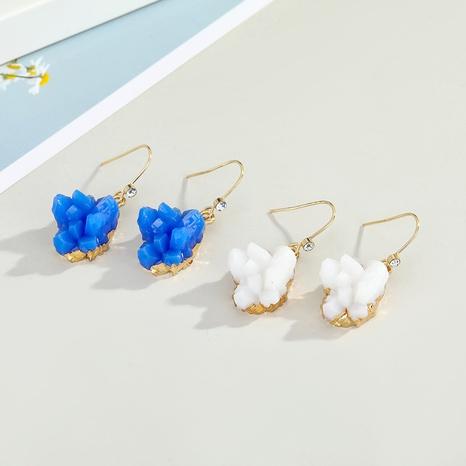 Fashion acrylic multicolor irregular earrings NHGO326908's discount tags