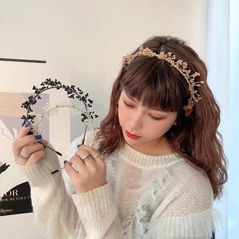 Koreanischer Kristall dünnkantiges Stirnband Großhandel NHAQ326942's discount tags