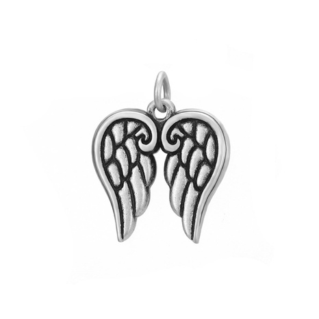 Retro wings accessories stainless steel DIY jewelry accessories  NHTF326991's discount tags