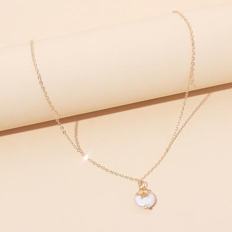 Collar de mariposa de perlas de moda NHRN326993's discount tags