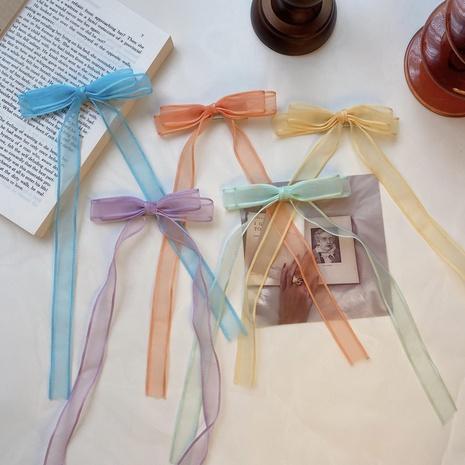 Korean fashion children's bow hairpin NHCQ327003's discount tags