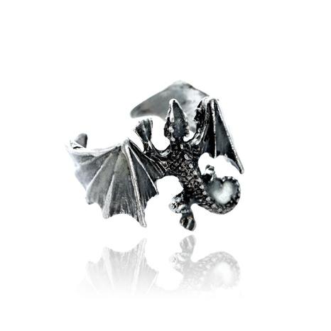 retro luminous lizard ring wholesale NHAN327015's discount tags