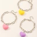 Bracelet couleur coeur pche amour mode NHNU327066