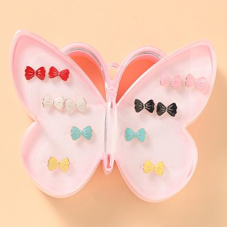 nouvel ensemble de boucles d'oreilles mignonnes papillon mode NHNU327063's discount tags