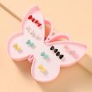 nouvel ensemble de boucles d39oreilles mignonnes papillon mode NHNU327063