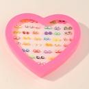 ensemble de boucles d39oreilles en cramique mignonnes simples NHNU327060