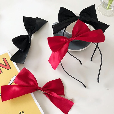 Korean three-dimensional bow thin-brimmed headband NHSM326698's discount tags