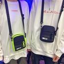 Fashion contrast color shoulder messenger square cloth bag NHAV327103