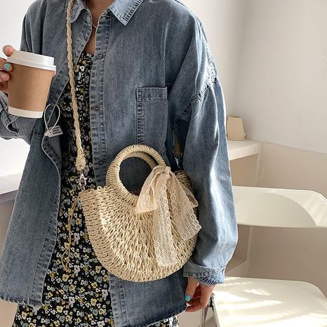 New simple fashion woven handbag NHWH327151's discount tags