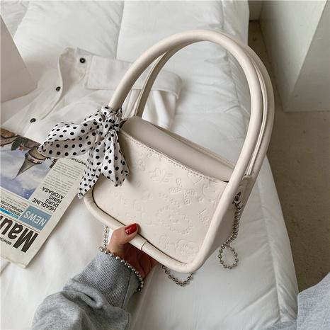 Bolso de mensajero de hombro de bufanda de seda de moda NHWH327189's discount tags