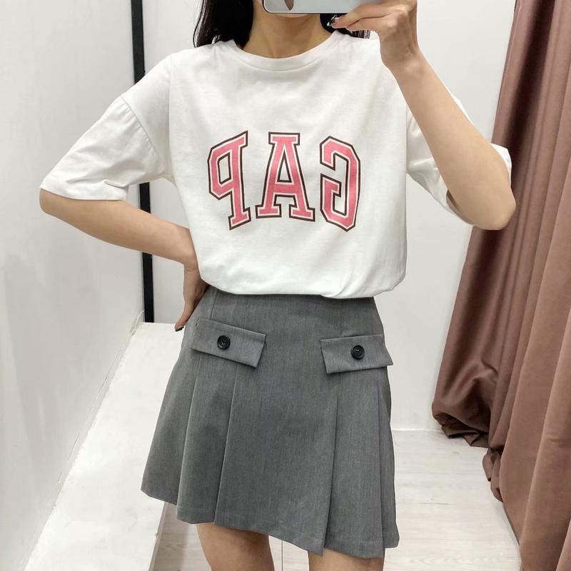 wholesale round neck printing Tshirt  NHAM327325