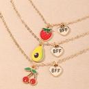 joli collier de fruits cratifs  la mode NHNU327663