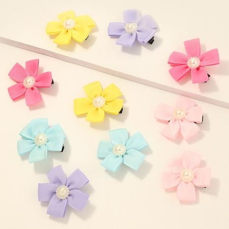 Niedliche Blumen-Haarspangenset der koreanischen Kinder NHNU329128's discount tags