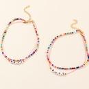 nouveau collier pour enfants de perles de riz de couleur de mode NHNU329127