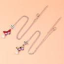 collier de papillon creux pendentif diamant de mode NHNU329779