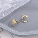 Boucles d39oreilles simples toile en argent S925 NHKL327494