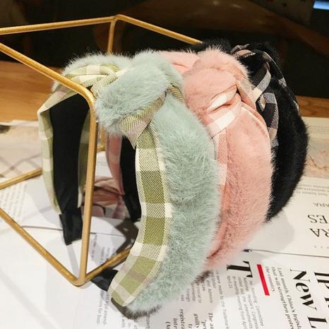 Koreanisches Mode-Lamm neues Stirnband NHWB327712's discount tags