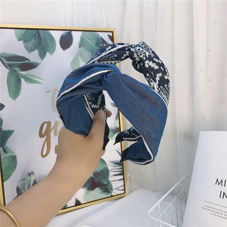Koreas neues Mode-Denim-Bogen-Haarband NHWB327731's discount tags
