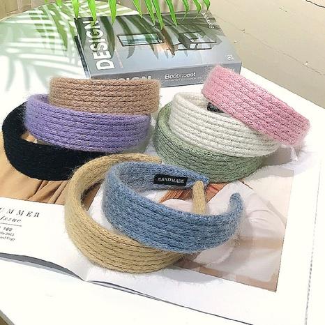 Einfache süße Stirnband der koreanischen Mode NHWB327757's discount tags