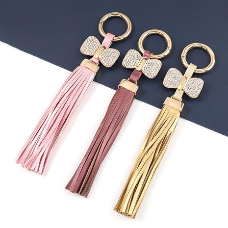 llavero bowknot tachonado de diamantes de aleación de moda NHJE327833's discount tags