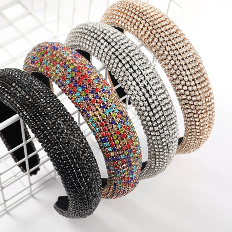 Mode neue Strass Stirnband NHJE327865's discount tags