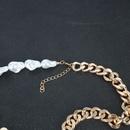 collier multicouche de perles de forme spciale NHCT327926