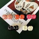 Retro flower alloy earrings wholesale NHOM327976