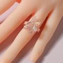 Korea Transparent Resin Bear Ring Wholesale NHLU327989
