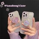 Korean transparent Phnom Penh bracket phone case NHFI328217