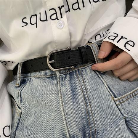 Cinturón salvaje simple estilo retro coreano NHWP328342's discount tags
