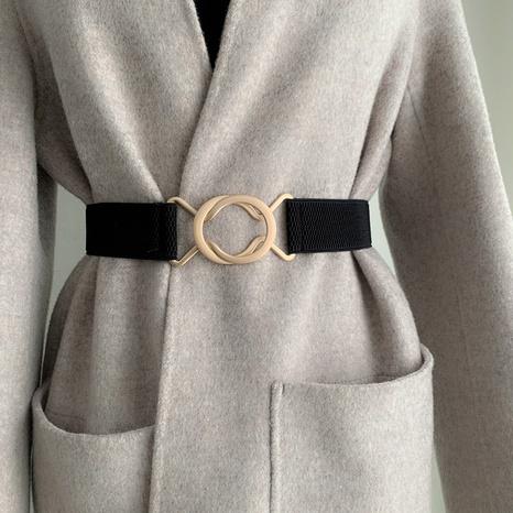 nuevo cinturón de cintura elástica de moda coreana NHWP328345's discount tags