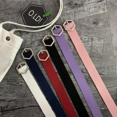 Nuevo cinturón de lona de moda NHWP328351's discount tags